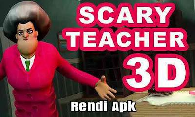 scaru teacher 3d mod apk