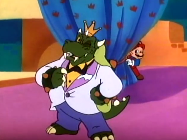 Do You Princess Toadstool Take This Koopa...? Super Mario Bros. Super Show King Koopa wedding suit jacket