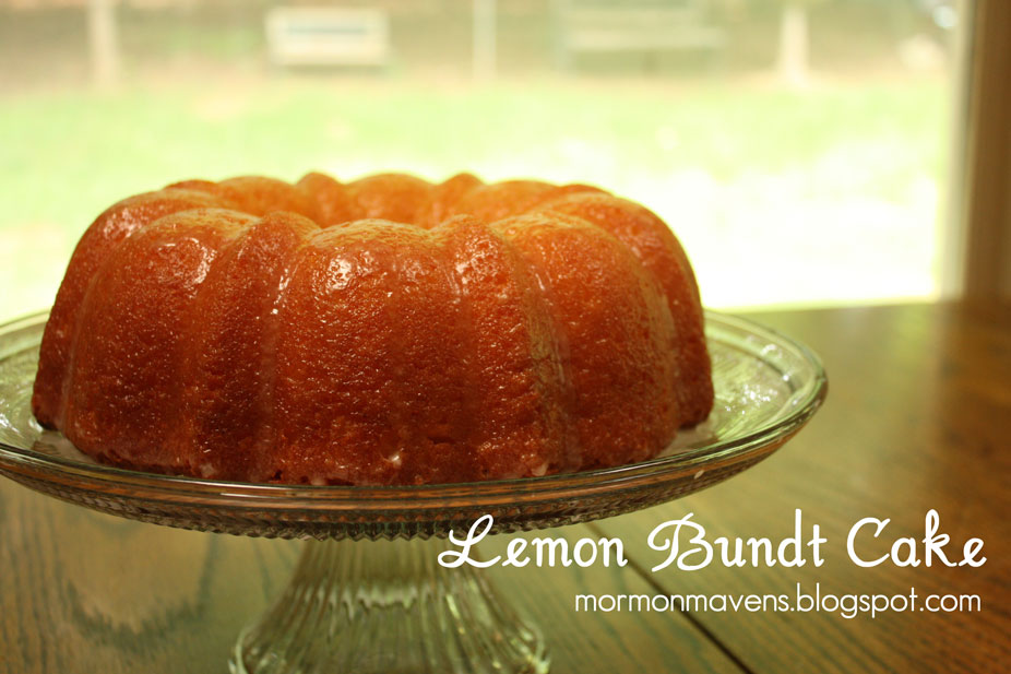 Lemon Jello Cake Recipe Poke: Mormon Mavens In The Kitchen: Lemon Bundt Cake