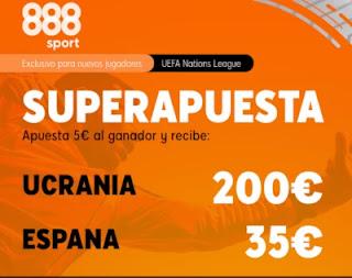 888sport superapuesta Ucrania vs España 13-10-2020