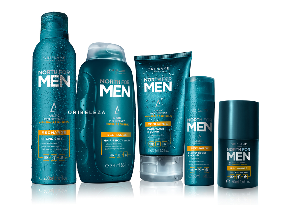 North for Men Recharge da Oriflame