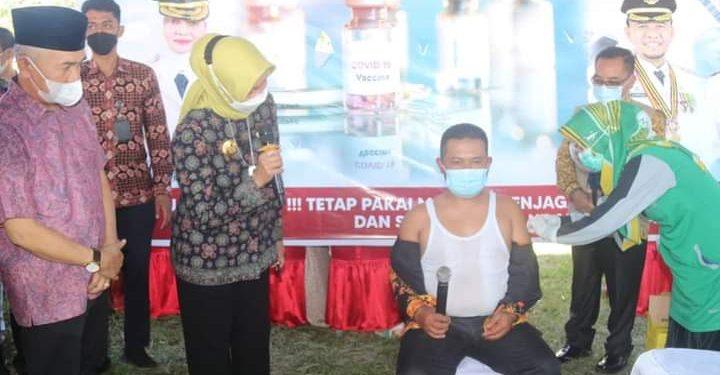Pemkab Kerinci Targetkan 1500 Vaksin Perhari Dalam Program Satu Juta Vaksin