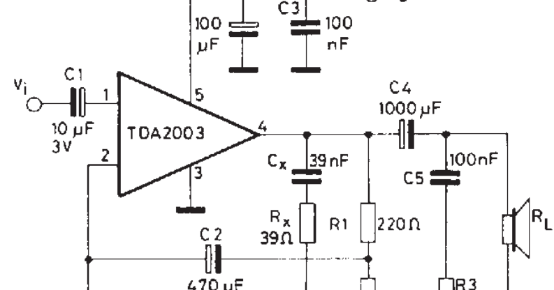 10W CAR RADIO AUDIO AMPLIFIER [] Diagram Guide
