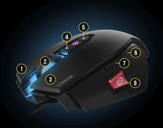 Gaming Mouse, Corsair Gaming M65 Pro RGH FPS Review
