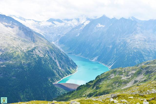 Lago Schlegeis Stausee en Austria