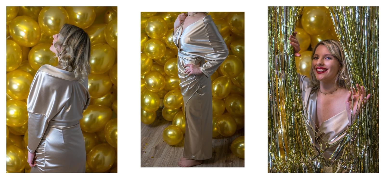 10a sylwestrowe dekoracje na domówkę jak zrobić sylwestrowe dekoracje czapeczki balony girlandy stylowe z cekinami gdzie kupić balony kurtynę w drzwi