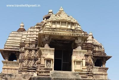 देवी जगदंबी मंदिर खजुराहो - Devi Jagadambi Temple Khajuraho