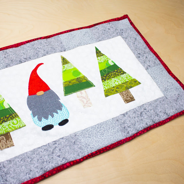 diy christmas tree runner