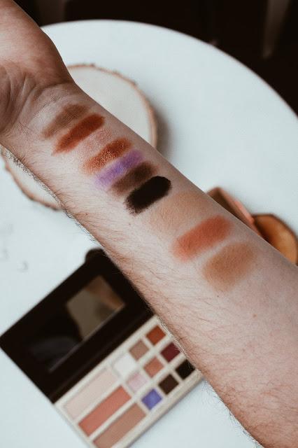 swatche makeup revolution