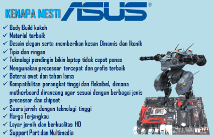 laptop ASUS terbaik gaming
