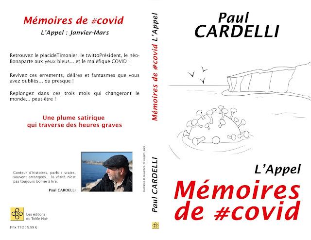 Paul Cardelli Les éditions du Trèfle Noir Mémoires de #covid