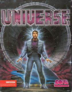 Portada videojuego Universe - Amiga