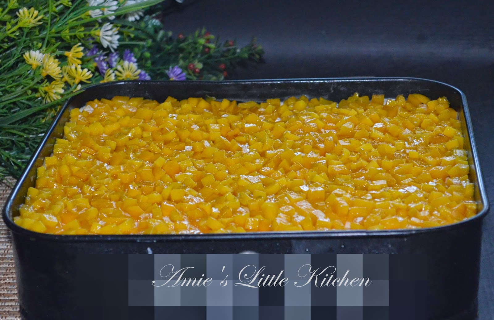 AMIE'S LITTLE KITCHEN: Mango Casablanca : Gantikan Cream