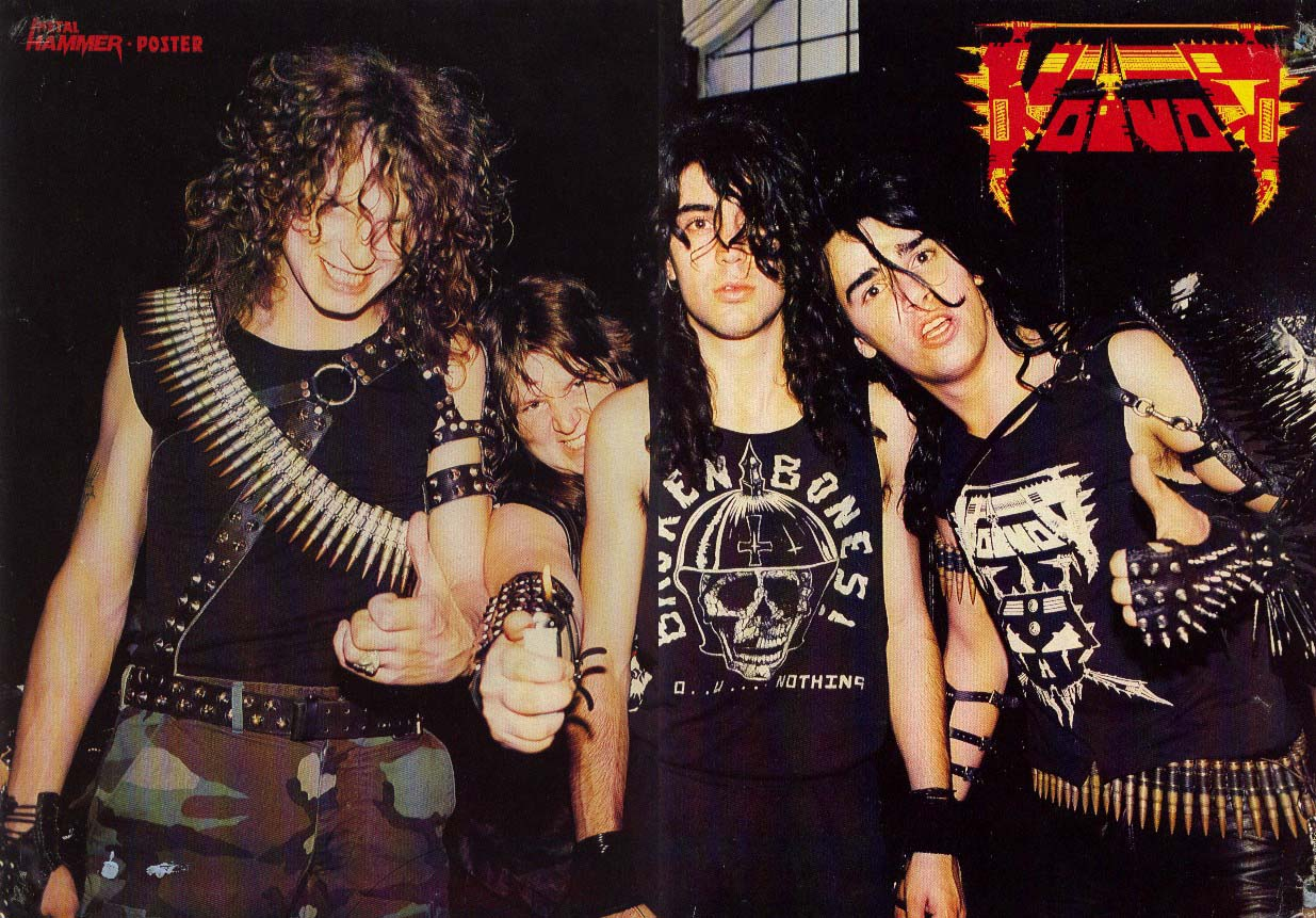 Warriors Of The Metal Voivod  Discografia