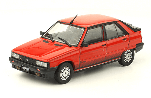 Renault 11 Turbo 1986 1:43, autos inolvidables argentinos 80 90