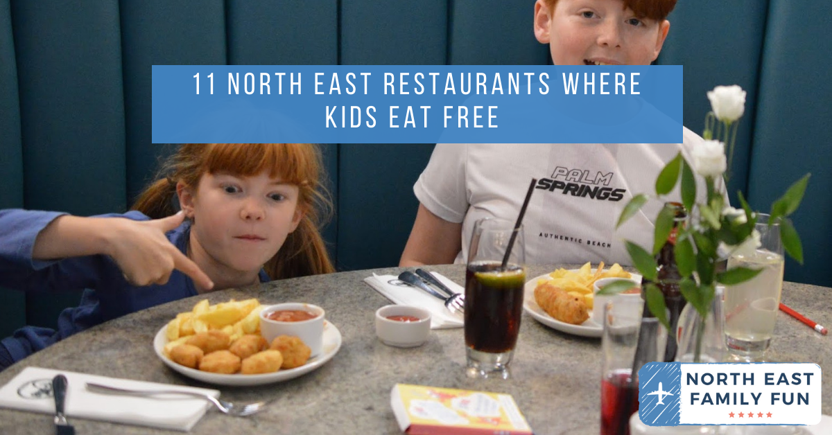 11 North East Restaurants Where Kids Eat Free