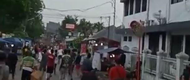 Viral, Video Tawuran di Depan Kejaksaan Negeri