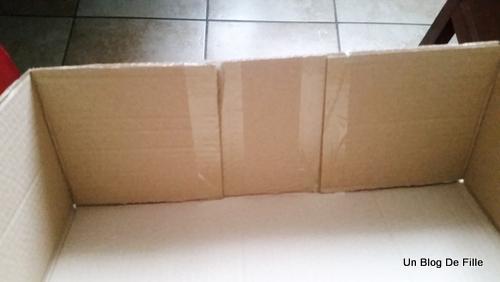 Un blog de fille diy fausse chemin e en carton vid o - Fausse cheminee en carton pour noel ...