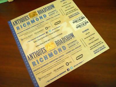 antiques roadshow tickets