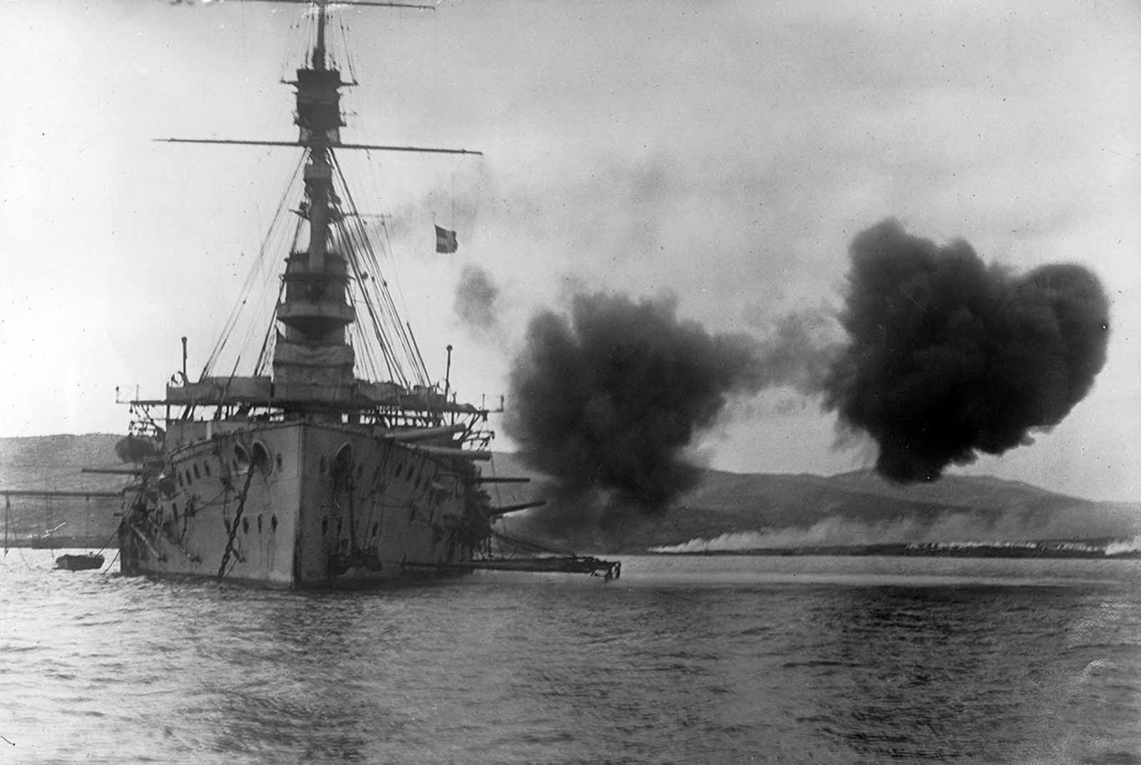 Momentos Del Pasado La Batalla Naval En La Primera Guerra Mundial