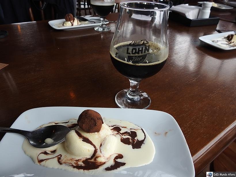 Almoço na Cervejaria Lohn Bier: visita à fábrica em Lauro Müller