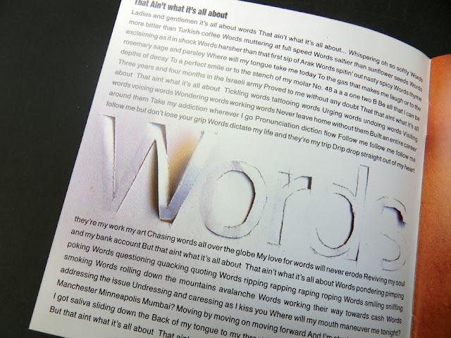 עיצוב גרפי חוברת לדיסק הדג נחש