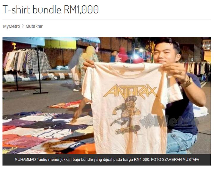 Cara Nak Buat Bisnes Baju Bundle
