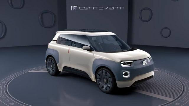فيات تحتفل بعديها المائة و العشرين عن طريق سيارة Centoventi الجديدة