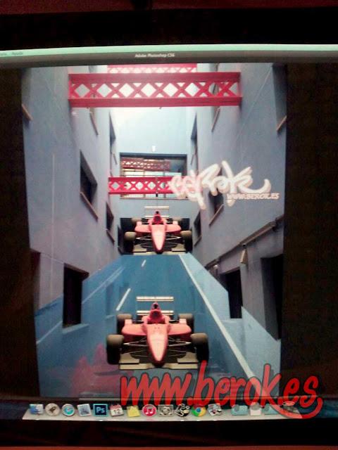 diseño 3d Fórmula 1