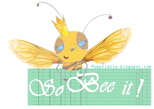 Quilting Bee, Original Puppilalla Design 2015, Graphic
