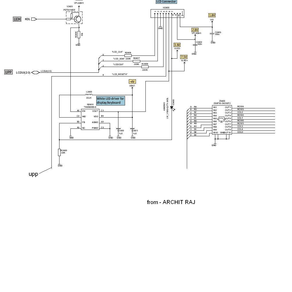 nokia 6300 mic jumper diagram