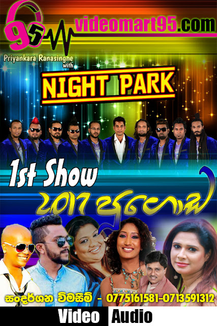 NIGHT PARK 1ST SHOW AT PUGODA 2017