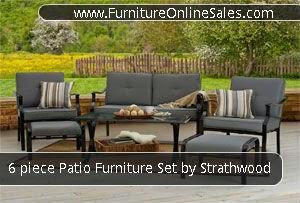 Outdoor Patio Furniture Area