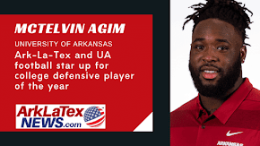 Hope and Texarkana native McTelvin Agim up for top college football defensive player of the year