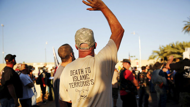 """Veterano del Ejército estadounidense amenaza con """"cortar las cabezas"""" de los musulmanes"""