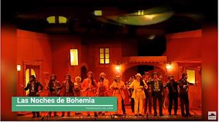"""Presentación con Letra """"Las Noches de Bohemia"""" de Jc Aragón Becerra (2010)"""
