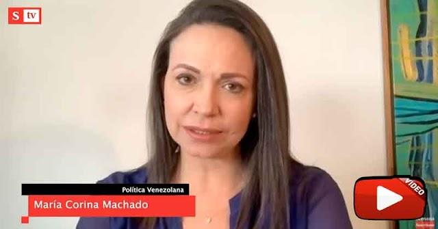 María Corina Machado | La división es entre los colaboracionistas y nosotros
