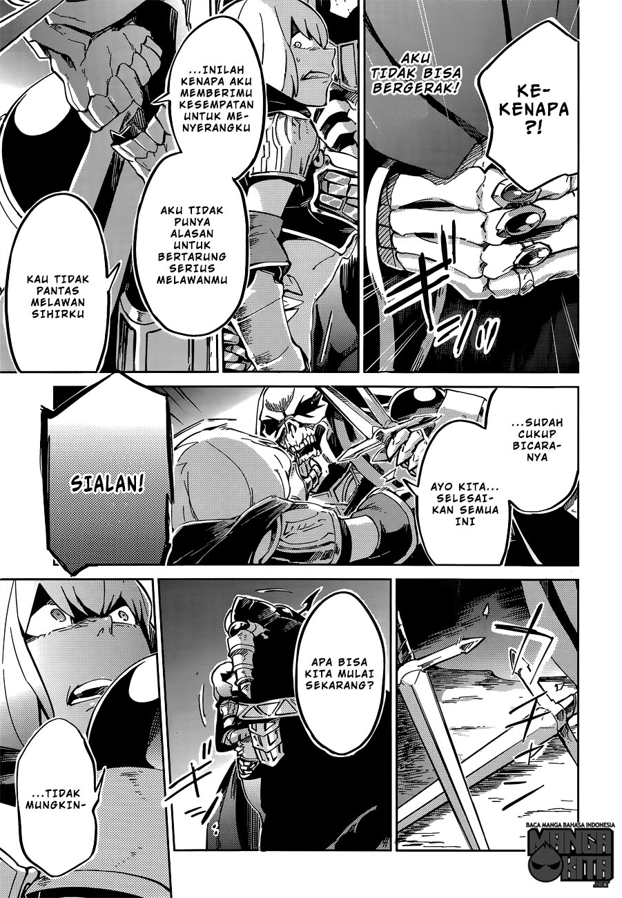 Manga Overlord chapter 9 Bahasa Indonesia