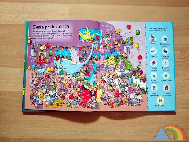Interior libro Busca y encuentra 1000 dinosaurios y otros objetos