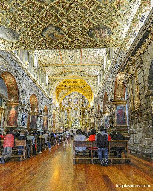 Igreja de São Francisco, Quito, Equador