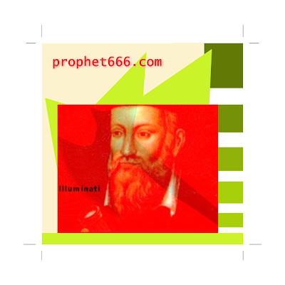Artwork 3D Nostradamus Image NWO Destroyed