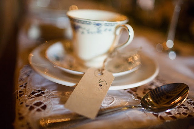 How to make teacup candle wedding favours
