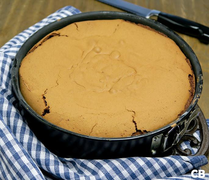 Chocoladecake vers uit de oven