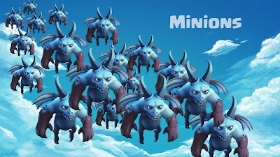 minion clash of clans
