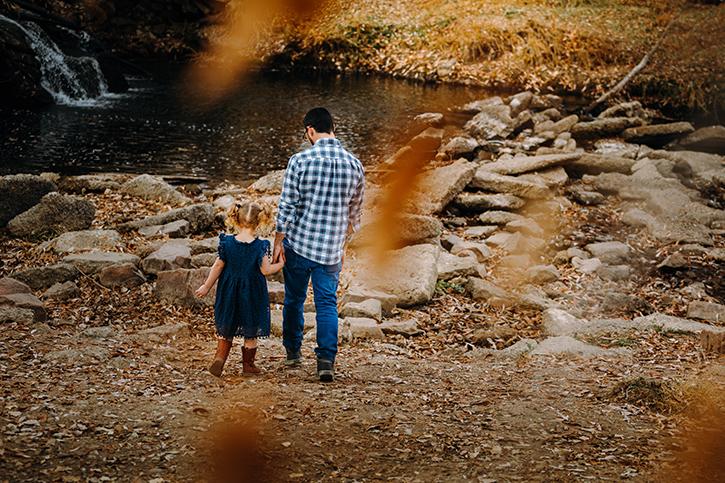 fall family photos in longmont colorado