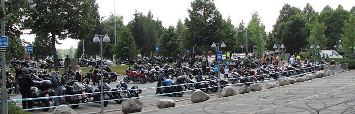 moottoripyörätapahtuma Harley Davidson moottoripyörät moottoripyöräily