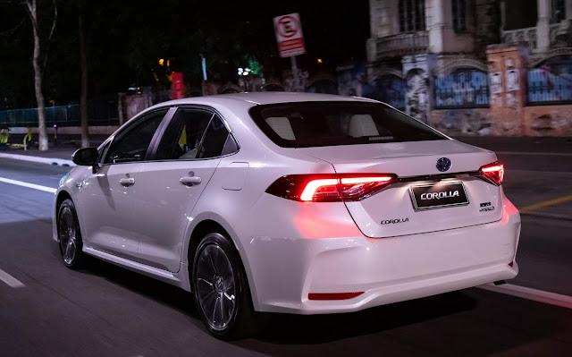 Novo Corolla 2020 Hybrid Flex