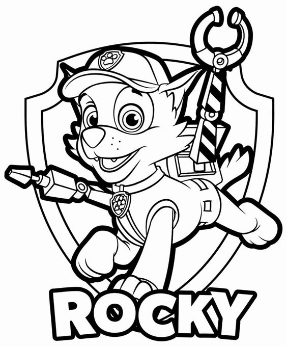 Paw patrol coloring pages 32