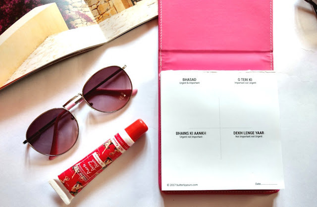 REVIEW : Bhasad Stationery Planner by Butterly yours