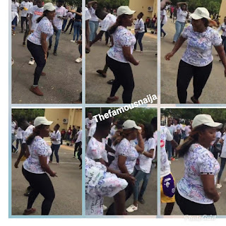 Video: UNILORIN Student Dances 'Soapy' By Naira Marley After Her Final Exam, Signs Out In Style 3